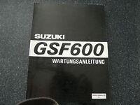 Suzuki GSF 600   Wartungsanleitung