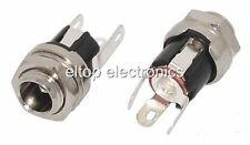 1x DC Power Jack Socket 2.5mm Connector Panel-Mount PS02