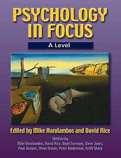Psychology in Focus A Level, Stenner, Mr Paul & Kinderman, Mr Peter & Sharp, Mr