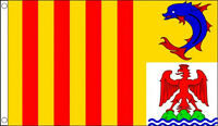 5' x 3' Provence Alpes Cote d'Azur Flag France Region French Province Banner
