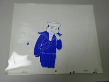 CRACKER JACK Production Pencil Drawing & Hand Painted Animation Cel 3A 21