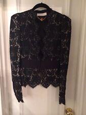 Stella Mccartney Rare Lace Blazer Size 40 (4/6) Black
