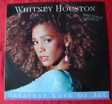 Whitney Houston, greatest love of all, Maxi vinyl