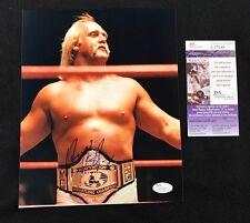 Hulk Hogan Signed Vintage 1986 WWE Champion 8x10 Photo JSA COA