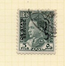 Iraq 1930s Official Early Issue Fine Used 5f. Optd 169968