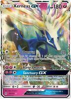 Pokemon Card: Xerneas GX 90/131 Forbidden Light Ultra Rare LP Holo