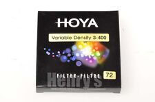 HOYA 72MM VARIABLE NEUTRAL DENSITY FILTER/3-400/NEW