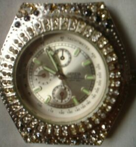 1 X  GENEVA WATCH MARQUIS WORKING NO BAND SEE OTHERS LISTED
