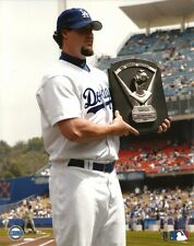 ERIC GAGNE 8x10 MLB PHOTO Cy Young Award @ LA Dodger Stadium LOS ANGELES DODGERS