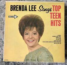 BRENDA LEE Sings Top Teen Hits -Canadian Pressing LP