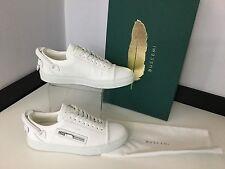Buscemi Donna Sneaker Basse, UK 5 eu38 Bianco in Pelle, Prezzo Consigliato £ 625, SCARPE NUOVE