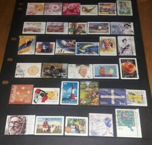 Australia collection of 349 Fine Used commemorative stamps fine used
