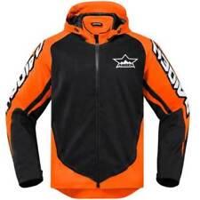 Blousons orange textile pour motocyclette Homme
