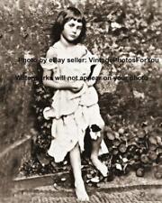 Old Lewis Carroll Alice in Wonderland Inspiration Alice Pleasance Liddell Photo