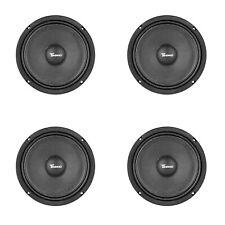 "Set FOUR New Timpano MR10-4 Slim 10"" Mid Range 1600W Speaker Car Audio 4 Ohm"