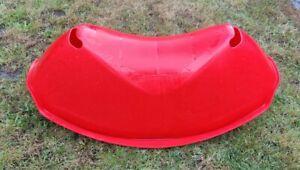 IKEA RUSIG Kids Red Plastic Rocker / Seesaw