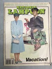 VINTAGE NATIONAL LAMPOON MAGAZINE 1979 Apr. SPORTS ISSUE - Ships Free & Fast