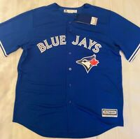 Toronto Blue Jays Majestic Cool Base Jersey Blue - XL - NEW w/TAG