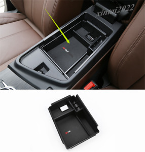 Armrest Center Console Organizer Storage Box For Alfa Romeo Stelvio 2017-2019