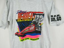 Vintage 90s Doug Herbert T Shirt Drag Racing Top Fuel Dragster NHRA YOUTH XL