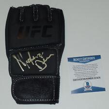 MACKENZIE DERN SIGNED AUTO'D UFC GLOVE BAS COA 222 224 INVICTA LEGACY FC LFA A