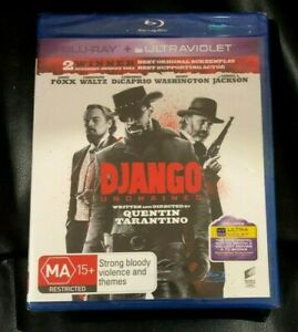 Django Unchained (2013 : Blu-Ray & Ultraviolet) Brand New Sealed Region B