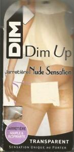 A VOIR !! bas stay-up T3 Dim-up Capri jarretière NUDE SENSATION fin 16 den
