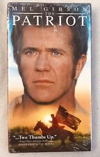 The Patriot (VHS, 2000) Mel Gibson Brand New Sealed Tape - $3 Shipping
