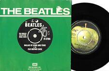 "THE BEATLES - THE BALLAD OF JOHN AND YOKO - U.K. 7"" 45 VINYL RECORD w P/S - 1982"