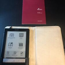 Sony PRS-600 6in eReader Touch Edition Stylus with Moleskin Cover Bundle