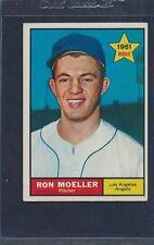 1961 Topps #466 Ron Moeller Angels EX 61T466-22216-2