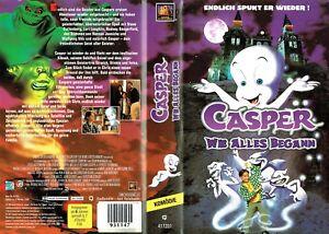 (VHS) Casper - Wie alles begann - Steve Guttenberg, Lori Loughlin, R.Dangerfield