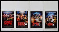 Lotto von 4 Poster Scary Film Keenen Ivory Wayans Flamming Regina Hall Zucker