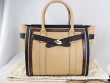 c4a74e2789 Authentic MULBERRY new style zipped Bayswater in cream