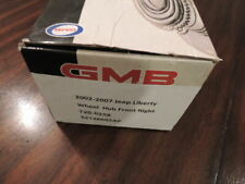 GMB Front Right Wheel Hub Bearing w/ABS 02-07 Jeep Liberty Passenger 52128692AF