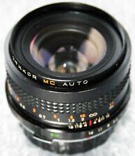 ZYKKOR MC AUTO 28mm f2.8 Lens Olympus Fitting