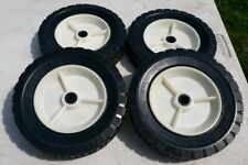 "Set of 4 Push Lawn Mower 7 3/4"" Wheels"