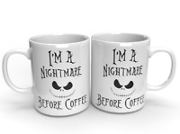 SECRET SANTA GIFT NIGHTMARE BEFORE CHRISTMAS COFFEE MUG PRESENT FUNNY STOCKING