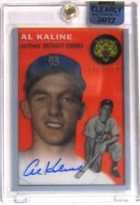 2017 Topps Clearly Authentic AL KALINE AUTOGRAPH RC REPRINT (HOF) Tigers 13/110