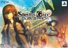 Used PS3 SteinsGate Double Pack SONY PLAYSTATION 3 JAPAN JAPANESE IMPORT