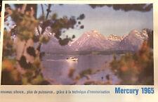 Bateaux - Catalogue Mercury - Moteurs Hors-Bord - 1965 - Rare !