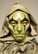 Creepy Harlequin Clown Halloween Plastic Face Mask