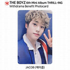 The Boyz 6th Mini Album Thrill-ing Photocard MK DMM Withdrama Everline Benefit