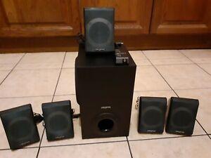 Creative Inspire P580 5.1 Multimedia / Surround Sound System In Excellent...
