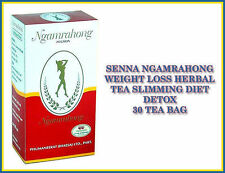 SENNA NGAMRAHONG LAXATIVE WEIGHT LOSS HERBAL TEA SLIMMING DIET DETOX 30 TEA BAG