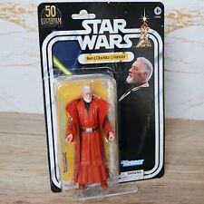"Star Wars Black Series 6"" Figure OBI-WAN KENOBI Ben (50th Anniversary) [OPENED]"