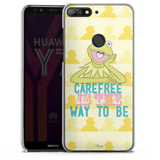 Huawei Y7 Handyhülle Case Hülle - Muppets Carefree is the way to be