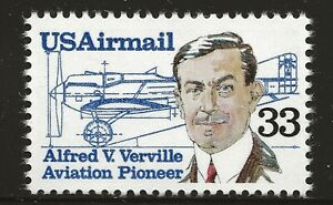 US Scott #C113, Single 1985 Air Mail 33c FVF MNH