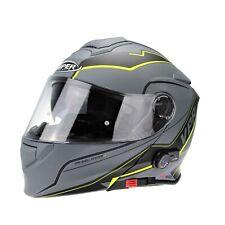 VIPER RSV171 ZONE BLUETOOTH FLIP UP MOTORCYCLE CRASH HELMET DVS PINLOCK SIZE L