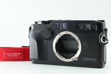 【EXC++++】Contax G2 Black 35mm Rangefinder Film Camera Body only from JAPAN W990